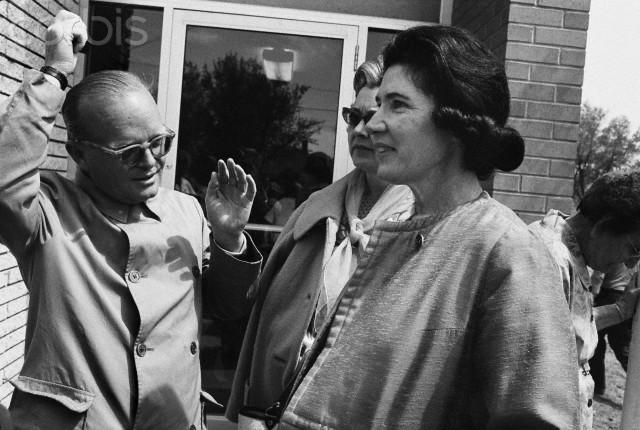 Writers Truman Capote and Harper Lee