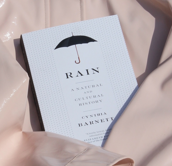 Rain book closeup